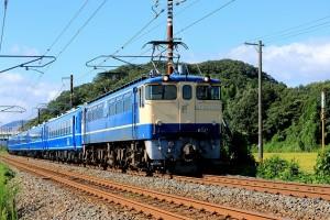 ⑦EF651132客車牽引0079