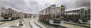 IMG阪急電車3両