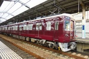 ①曽根駅阪急電車393
