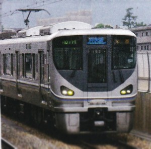 JR神戸線新快速