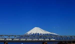 富士川の富士山0124