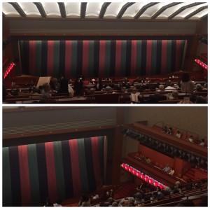 歌舞伎座内