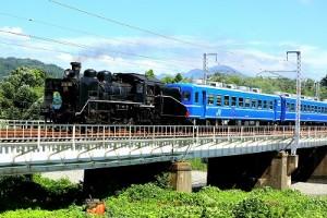 SL北びわこ 鉄橋