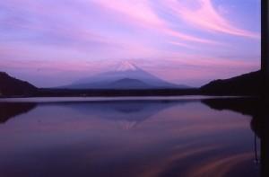 富士山の朝Scan10001