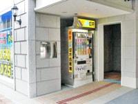 草津駅西口ボストンプラザ新館1F 販売機