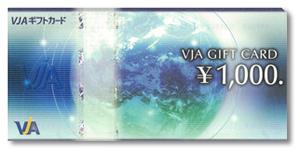 VISA・VJAギフトカード1000